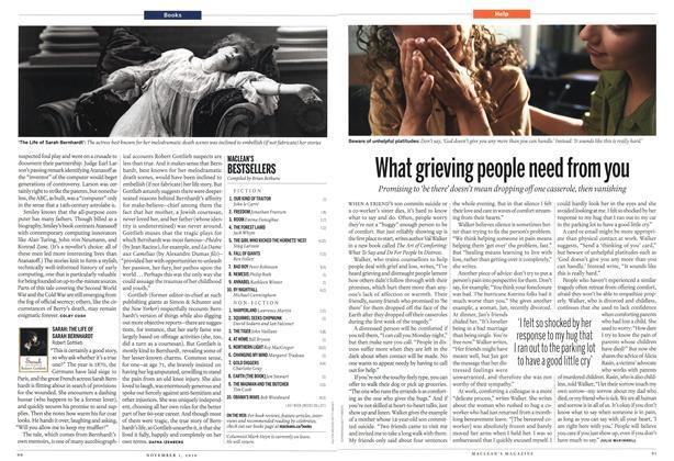 Article Preview: MACLEAN'S BESTSELLERS, November 1st 2010 | Maclean's