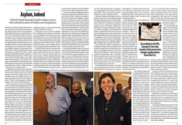 Article Preview: Asylum, indeed, November 2010 | Maclean's