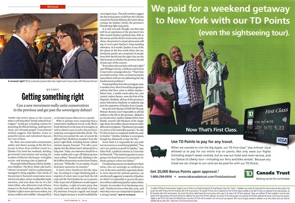 Article Preview: Getting something right, November 8th 2010 | Maclean's
