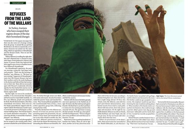 Article Preview: REFUGEES FROM THE LAND OF THE MULLAHS, November 8th 2010 | Maclean's