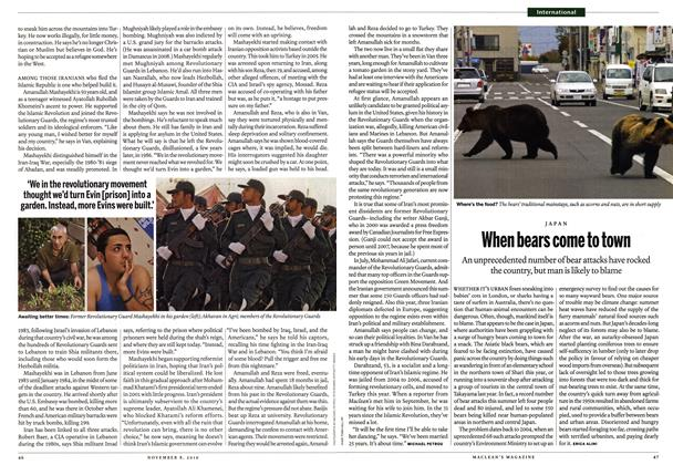 Article Preview: When bears come to town, November 8th 2010 | Maclean's