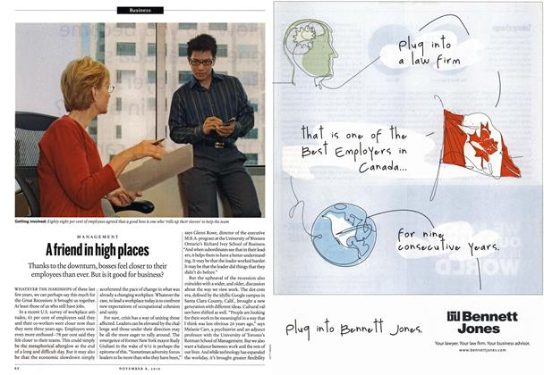 Article Preview: A friend in high places, November 8th 2010 | Maclean's