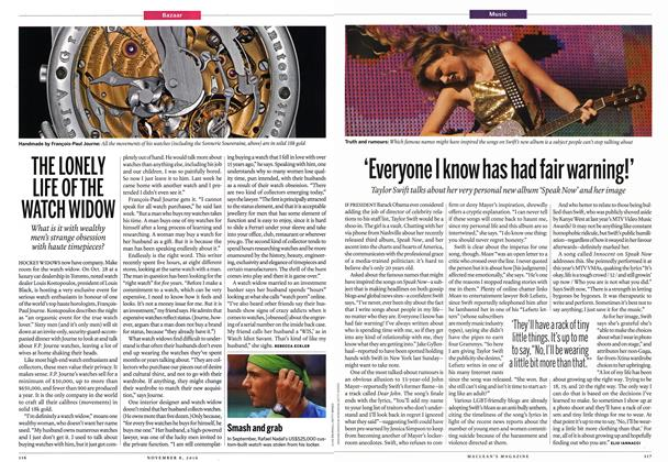 Article Preview: 'Everyone I know has had fair warning!', November 8th 2010 | Maclean's