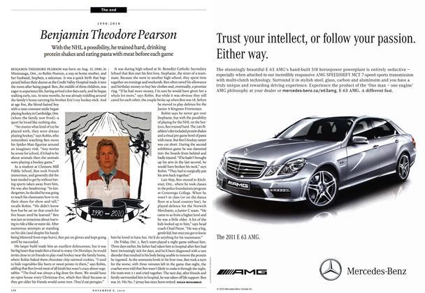 Article Preview: Benjamin Theodore Pearson, November 8th 2010 | Maclean's