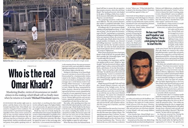 Article Preview: Who is the real Omar Khadr?, NOVEMBER 15th 2010 | Maclean's