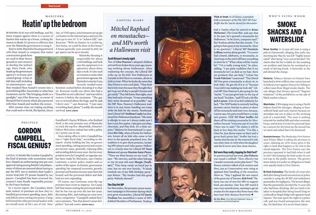Article Preview: Heatin'up the bedroom, NOVEMBER 15th 2010 | Maclean's
