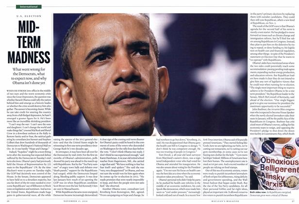 Article Preview: MID-TERM MADNESS, NOVEMBER 15,2010 2010 | Maclean's