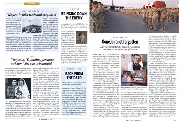 Article Preview: Gone, but not forgotten, NOVEMBER 15th 2010 | Maclean's