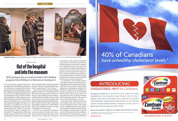Article Preview: Out of the hospital and into the museum, NOVEMBER 15,2010 2010 | Maclean's