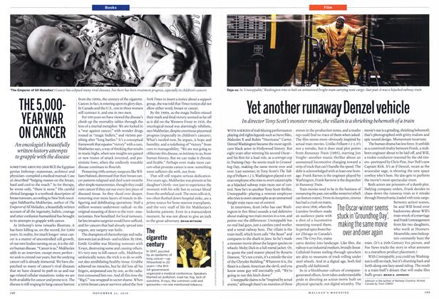 Article Preview: Yet another runaway Denzel vehicle, November 2010 | Maclean's