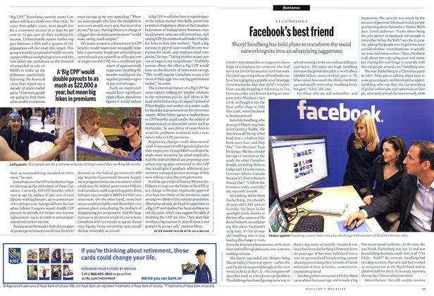Article Preview: Facebook's best friend, November 22nd 2010 | Maclean's