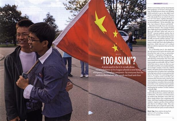 Article Preview: 'TOO ASIAN'?, November 22nd 2010 | Maclean's