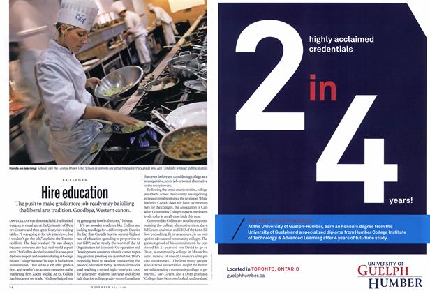 Article Preview: Hire education, November 22nd 2010 | Maclean's