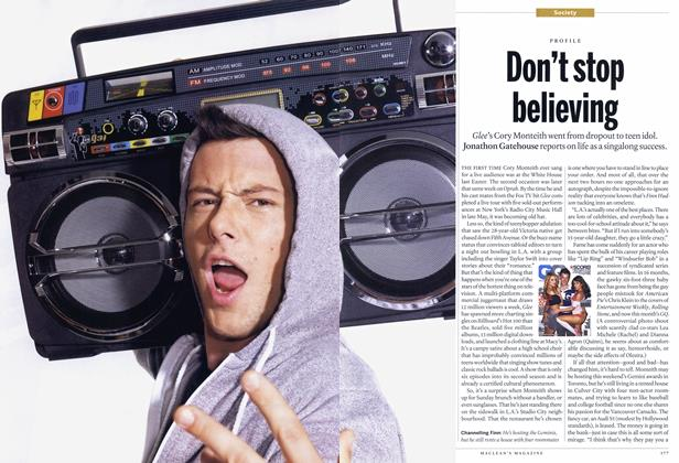 Article Preview: Don't stop believing, November 22nd 2010 | Maclean's