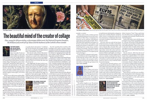 Article Preview: The beautiful mind of the creator of collage, November 22nd 2010 | Maclean's