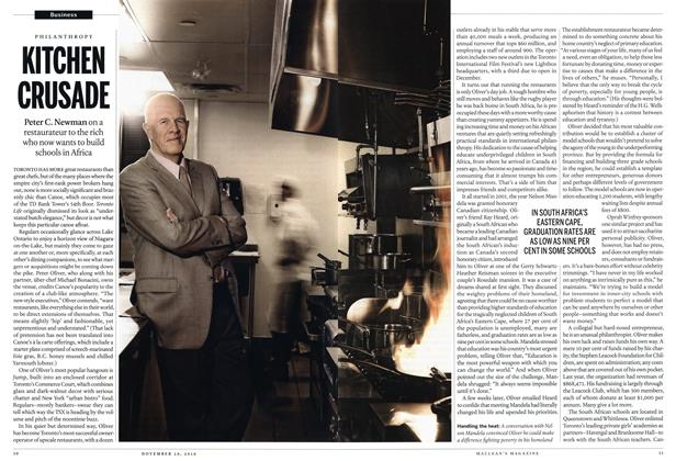 Article Preview: KITCHEN CRUSADE, November 29th 2010 | Maclean's