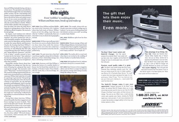 Article Preview: Date nights, November 29th 2010 | Maclean's