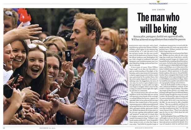 Article Preview: The man who will be king, November 29th 2010 | Maclean's