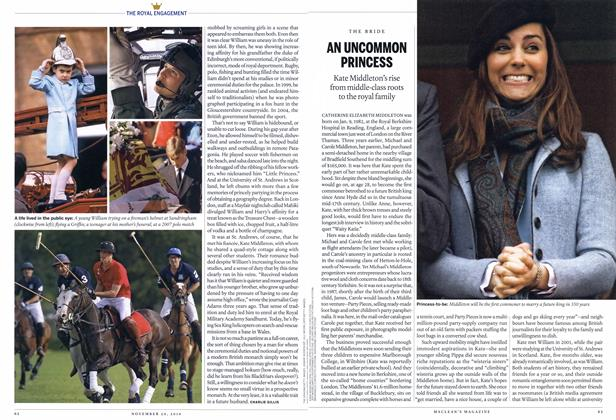 Article Preview: AN UNCOMMON PRINCESS, November 29th 2010 | Maclean's