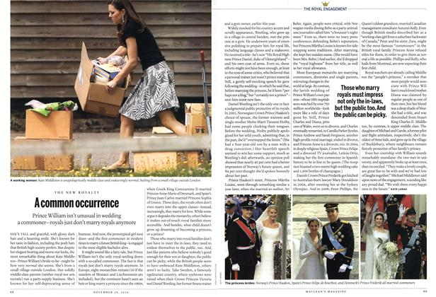 Article Preview: A common occurrence, November 2010 | Maclean's