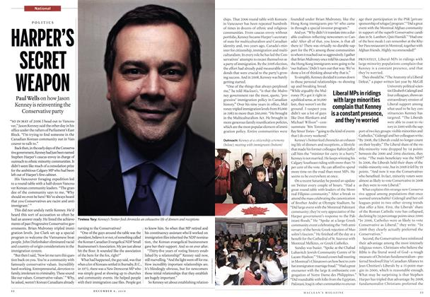 Article Preview: HARPER'S SECRET WEAPON, December 6th 2010 | Maclean's