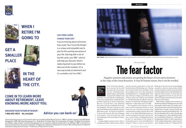 Article Preview: The fear factor, December 2010 | Maclean's