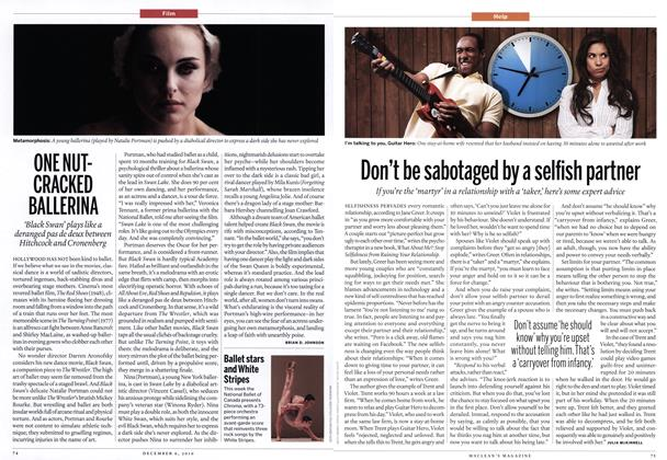 Article Preview: ONE NUTCRACKED BALLERINA, December 6th 2010 | Maclean's
