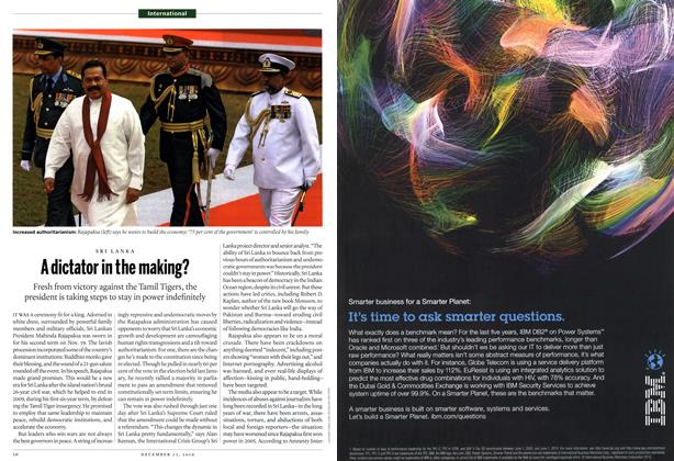 Article Preview: A dictator in the making?, December 2010 | Maclean's