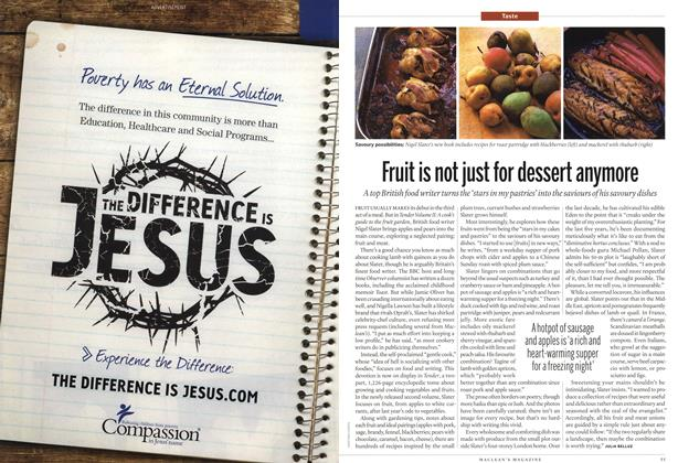 Article Preview: Fruit is not just for dessert anymore, December 13th 2010 | Maclean's