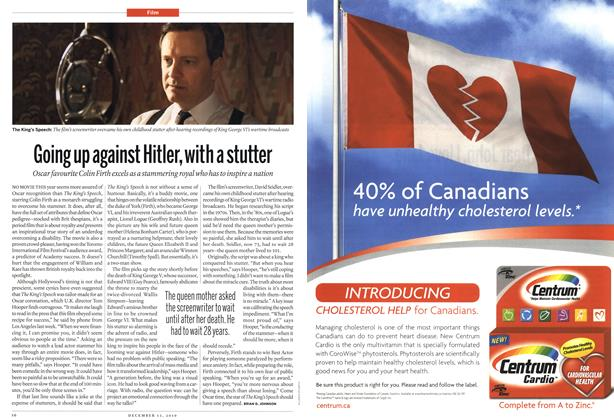 Article Preview: Going up against Hitler, with a stutter, December 13th 2010 | Maclean's