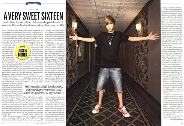 Article Preview: A VERY SWEET SIXTEEN, December 13th 2010 | Maclean's