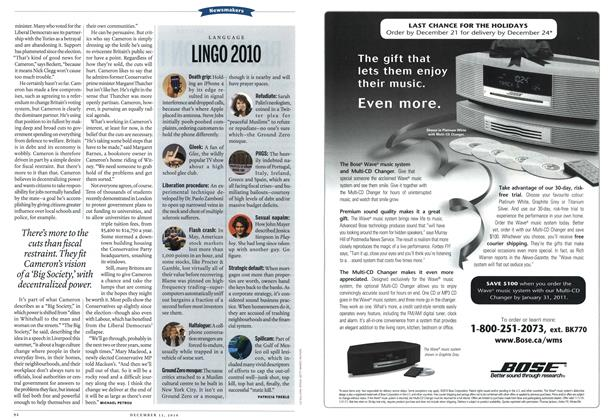 Article Preview: LINGO 2010, December 13th 2010 | Maclean's