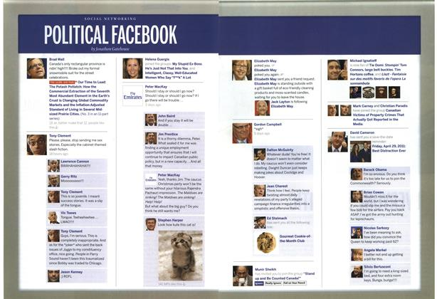 Article Preview: POLITICAL FACEBOOK, December 13th 2010 | Maclean's