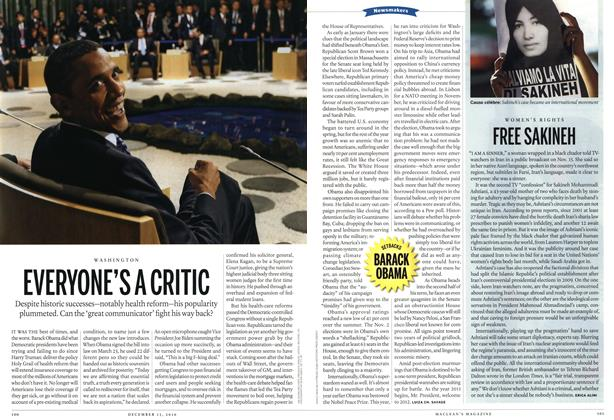 Article Preview: EVERYONE'S A CRITIC, December 13th 2010 | Maclean's