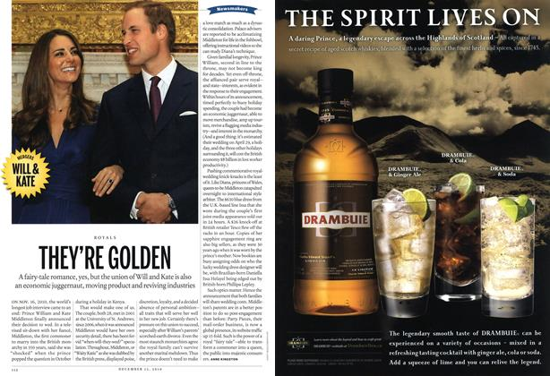 Article Preview: THEY'RE GOLDEN, December 13th 2010 | Maclean's