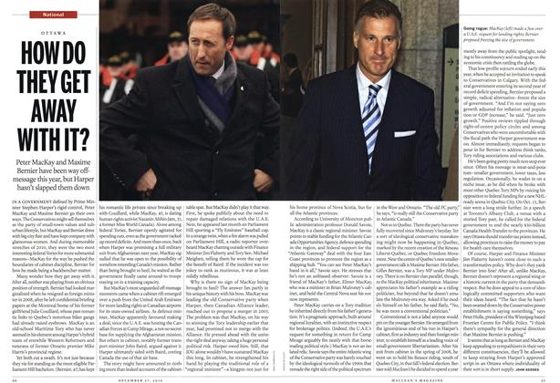 Article Preview: HOW DO THEY GET AWAY WITH IT?, December 27th 2010 | Maclean's