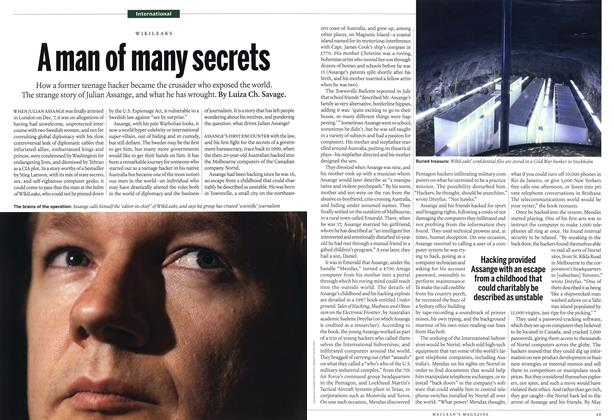 Article Preview: A man of many secrets, December 27th 2010 | Maclean's