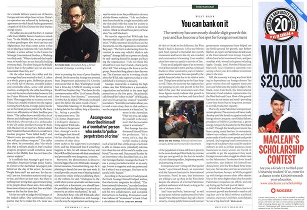 Article Preview: You can bankon it, December 27th 2010 | Maclean's