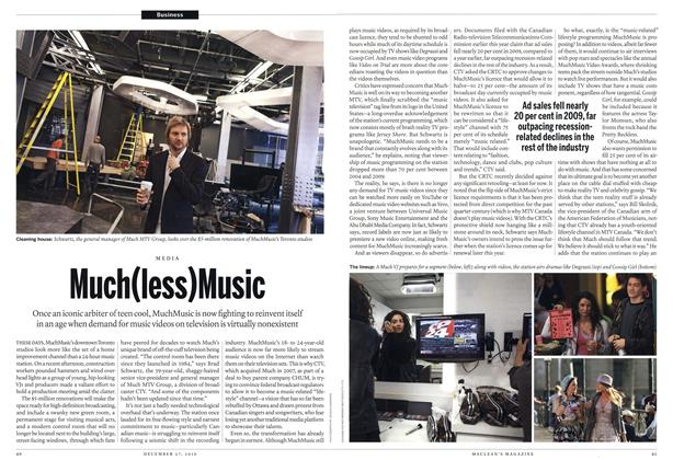 Article Preview: Much(less)Music, December 27th 2010 | Maclean's