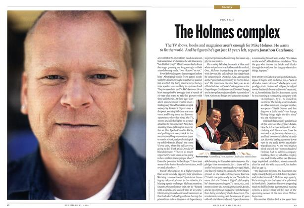 Article Preview: The Holmes complex, December 27th 2010 | Maclean's