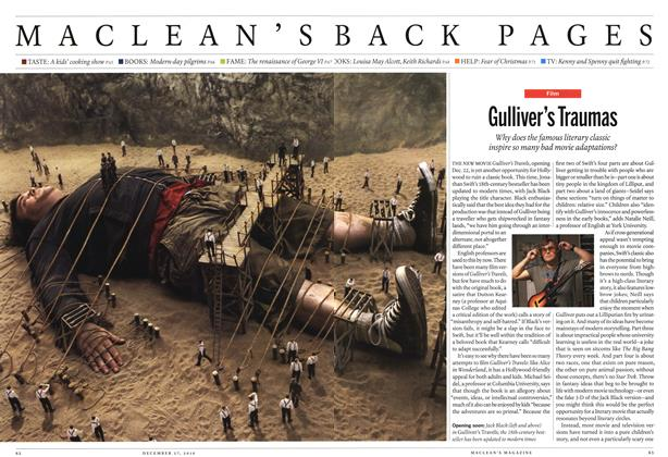 Article Preview: Gulliver's Traumas, December 27th 2010 | Maclean's