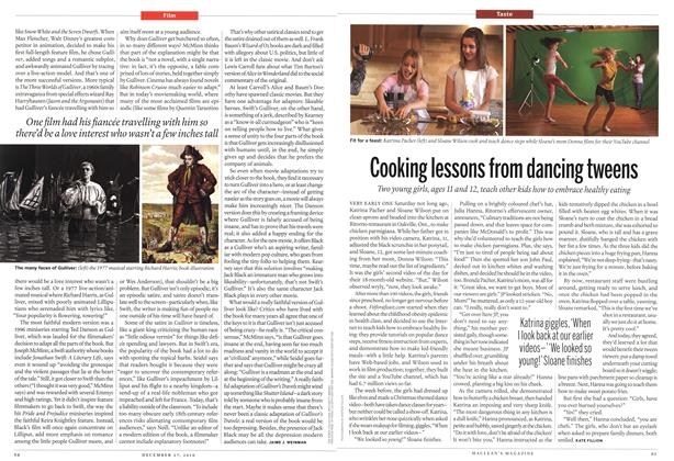 Article Preview: Cooking lessons from dancing tweens, December 27th 2010 | Maclean's