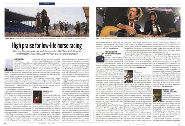 Article Preview: High praise for low-life horse racing, December 2010 | Maclean's