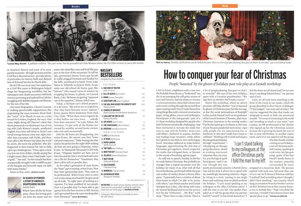 Article Preview: How to conquer your fear of Christmas, December 27th 2010 | Maclean's