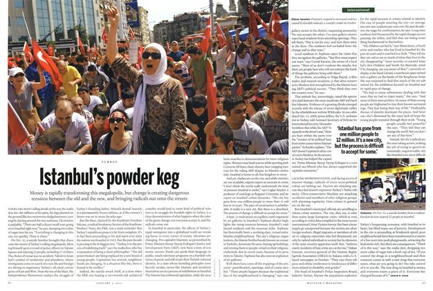 Article Preview: Istanbul's powder keg, January 3rd 2011 | Maclean's