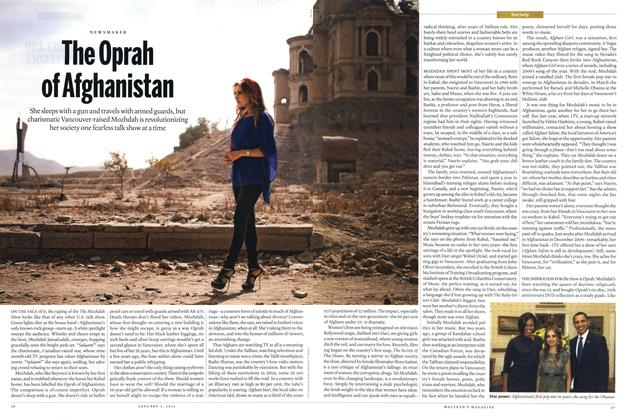 Article Preview: The Oprah of Afghanistan, January 3rd 2011 | Maclean's