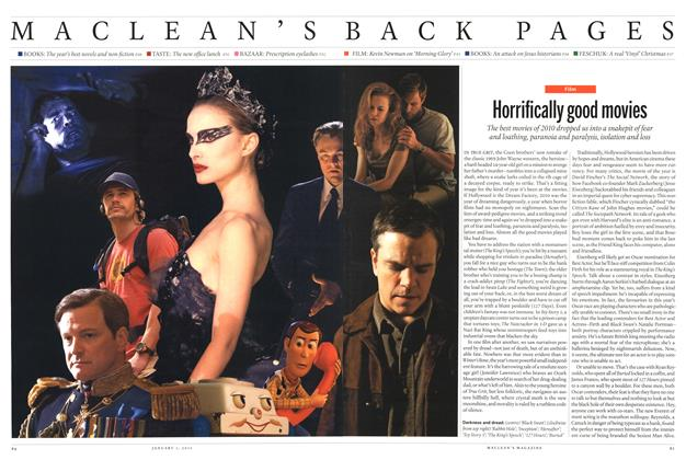 Article Preview: Horrifically good movies, JANUARY 3, 2011 2011 | Maclean's