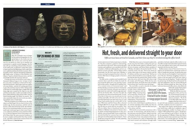 Article Preview: A HISTORY OF THE WORLD IN 100 OBJECTS Neil MacGregor, January 3rd 2011 | Maclean's