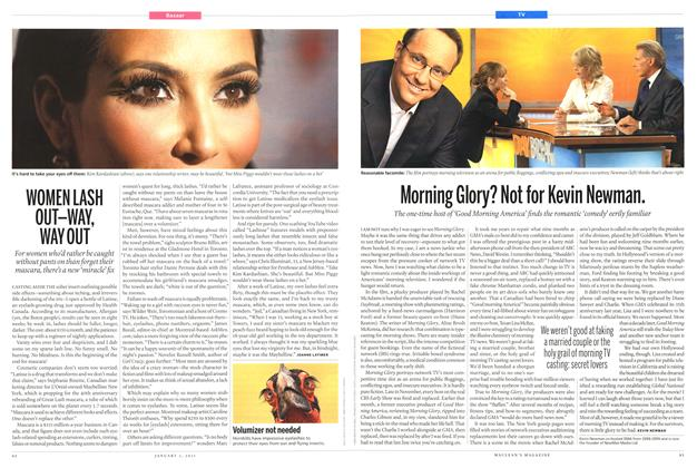 Article Preview: Morning Glory? Not for Kevin Newman., January 2011 | Maclean's