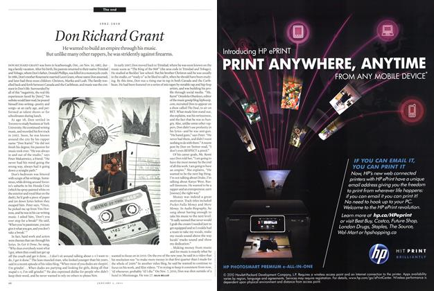 Article Preview: Don Richard Grant, January 3rd 2011 | Maclean's